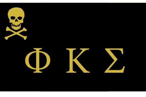 Phi Kappa Sigma 3' X 5' Flag - Officially Approved
