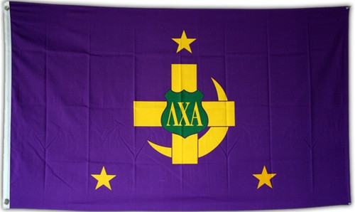 Lambda Chi Alpha 3' X 5' Flag - Officially Approved