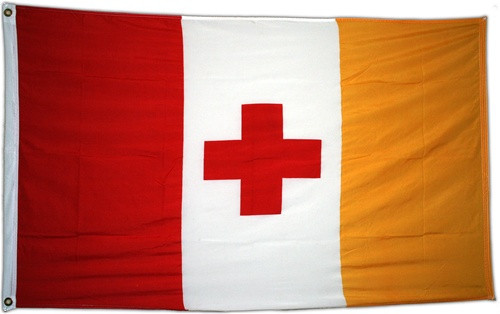 Kappa Alpha Order 3' X 5' Flag - Officially Approved