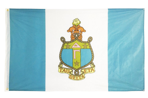 Delta Gamma 3' X 5' Flag - Officially Approved