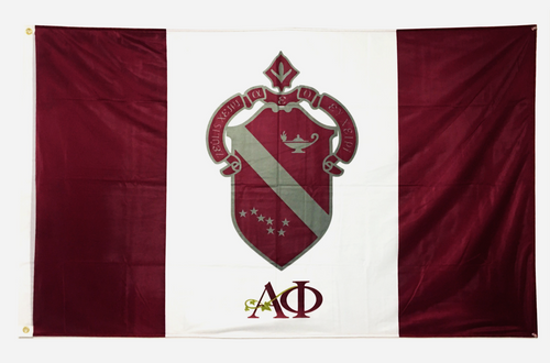 Alpha Phi 3' X 5' Flag - Officially Approved