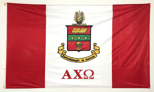 Alpha Chi Omega 3' X 5' Flag - Officially Approved