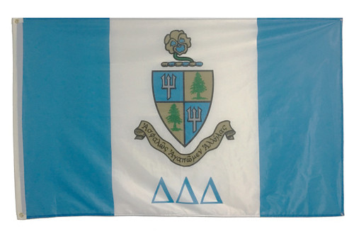 Delta Delta Delta 3' X 5' Flag - Officially Approved