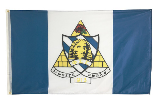 Phi Sigma Sigma 3' X 5' Flag - Officially Approved