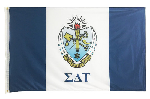 Sigma Delta Tau 3' X 5' Flag - Officially Approved