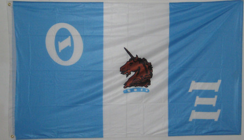 Theta Xi 3' X 5' Flag - Officially Approved