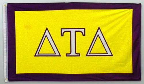 Delta Tau Delta 3' X 5' Flag - Officially Approved