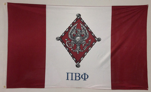 Pi Beta Phi 3' X 5' Flag - Officially Approved