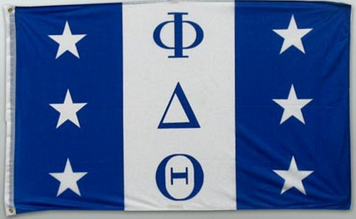 Phi Delta Theta 3' X 5' Flag - Officially Approved