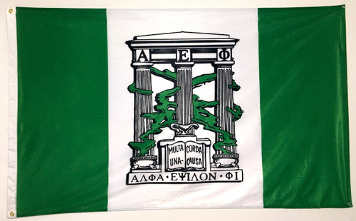 Alpha Epsilon Phi 3' X 5' Flag - Officially Approved