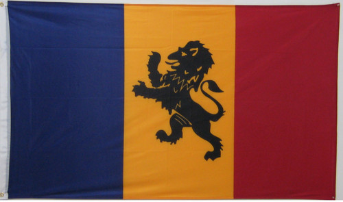 Delta Kappa Epsilon 3' X 5' Flag - Officially Approved