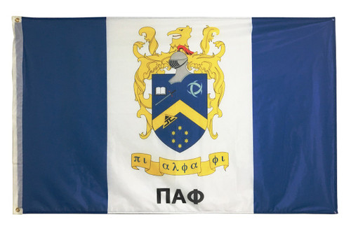 Pi Alpha Phi 3' X 5' Flag - Officially Approved