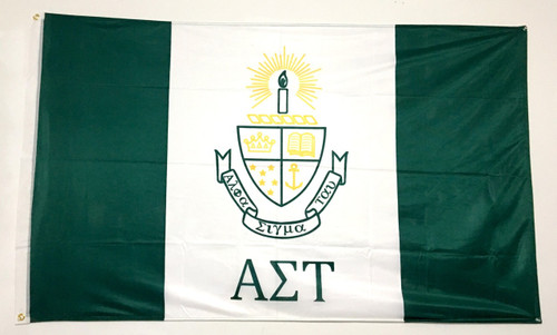 Alpha Sigma Tau 3' X 5' Flag - Officially Approved