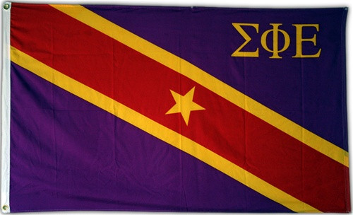 Sigma Phi Epsilon 3' X 5' Flag - Officially Approved