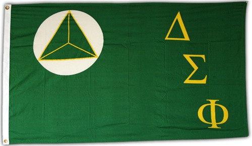 Delta Sigma Phi 3' X 5' Flag - Officially Approved