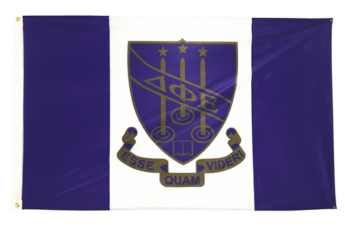 Delta Phi Epsilon 3' X 5' Flag - Officially Approved