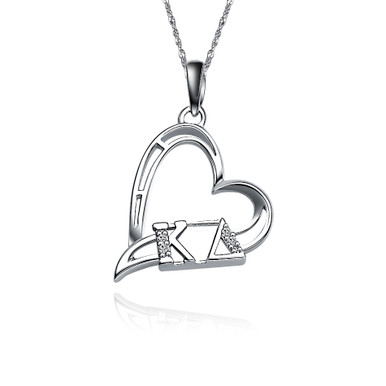 Omicron Delta Kappa Necklace with a 18 Silver Chain ODK-P002