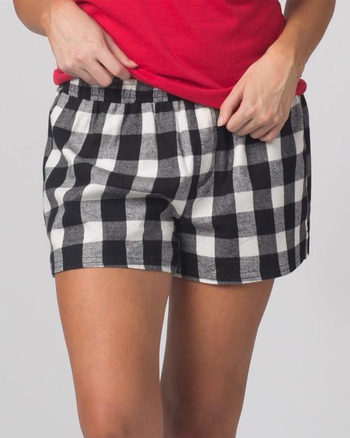 Boxercraft Women's Flannel Shorts F42