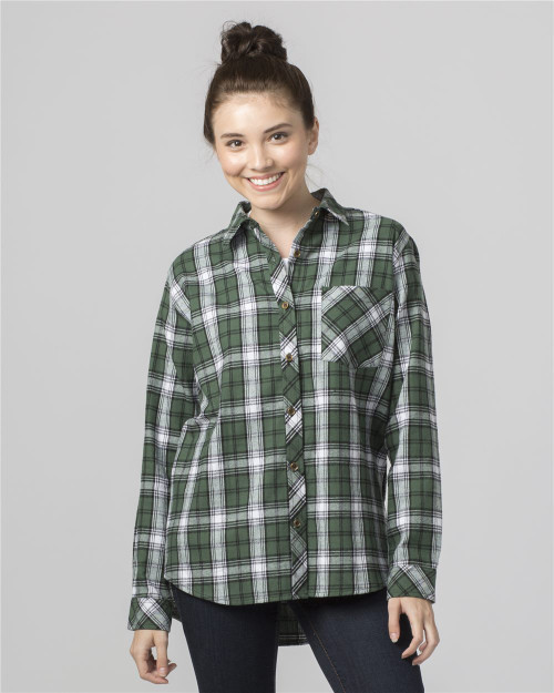 Boxercraft Women's Flannel Shirt F50