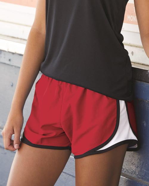 """Boxercraft Women's Velocity 3 1/2"""" Running Shorts P62"""