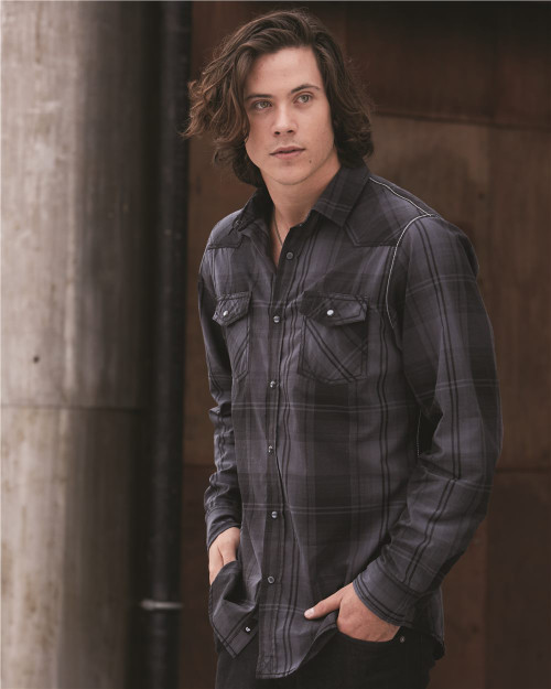 Burnside Long Sleeve Western Shirt 8206