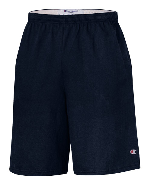"Champion Cotton Jersey 9"" Shorts with Pockets 8180"