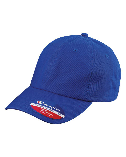 Champion Washed-Twill Dad's Cap CS4000