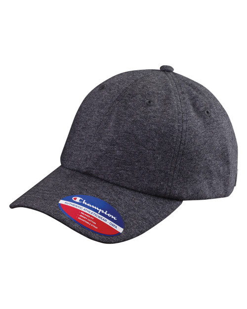 Champion Jersey Knit Dad's Cap CS4001
