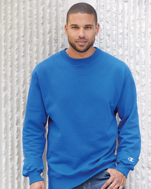 Champion Cotton Max Crewneck Sweatshirt S178