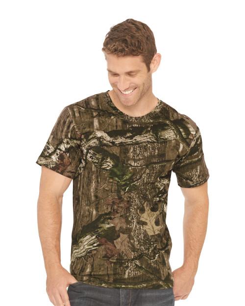 Code Five Adult Mossy Oak Camo Tee 3970