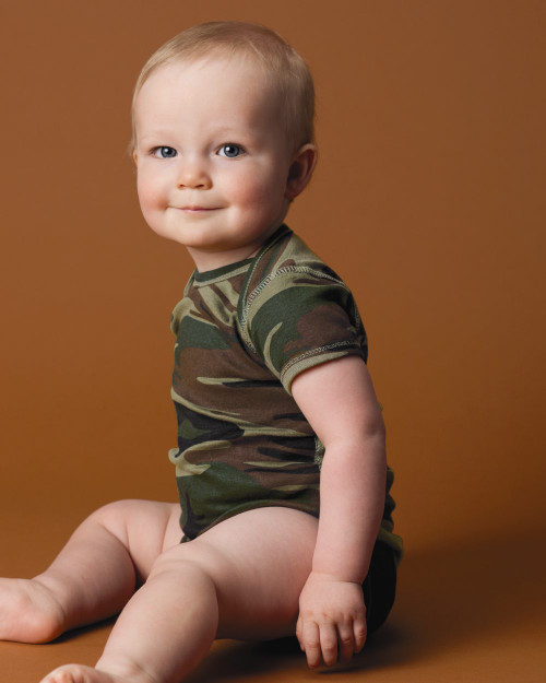 Code Five Infant Camouflage Creeper 4403