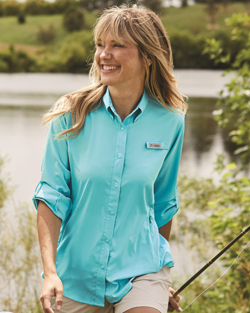 Columbia Women's PFG Tamiami II Long Sleeve Shirt 127570
