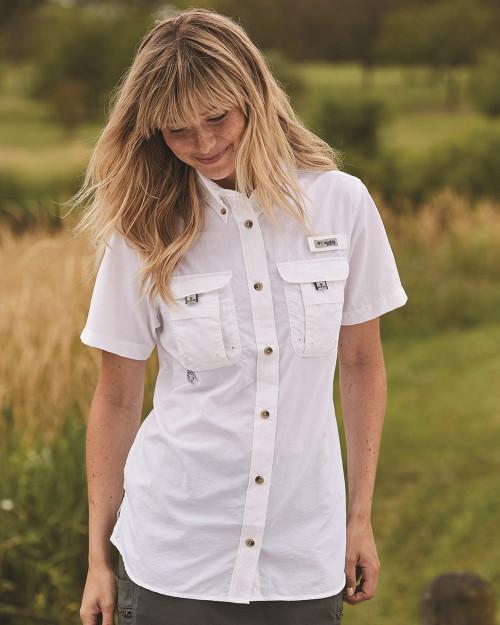 Columbia Women's PFG Bahama Short Sleeve Shirt 139655