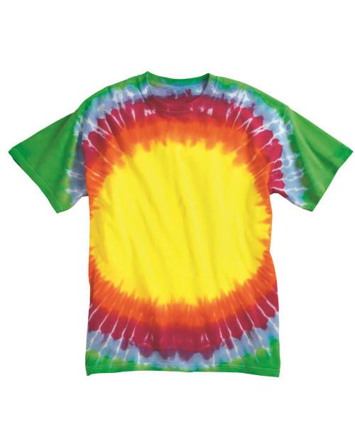 Dyenomite Tie Dye Bullseye T-Shirt 200BE