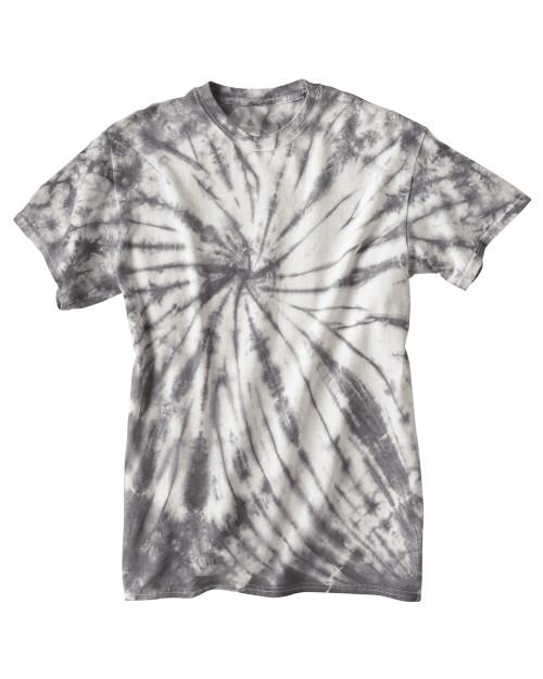 Dyenomite Tie Dye Contrast Cyclone T-Shirt 200CC
