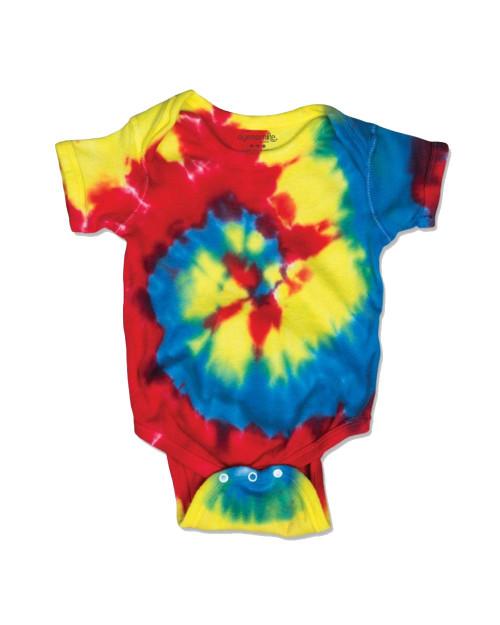 Dyenomite Spiral Tie Dye Infant 4400MS