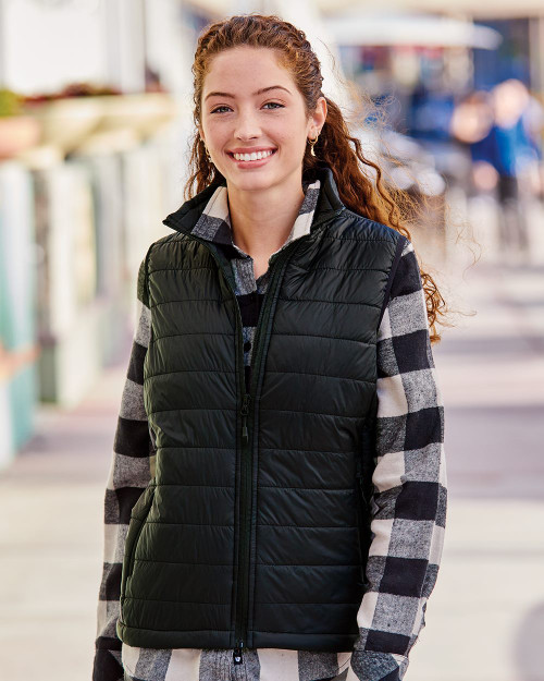 Independent Trading Co. Women's Puffer Vest EXP220PFV