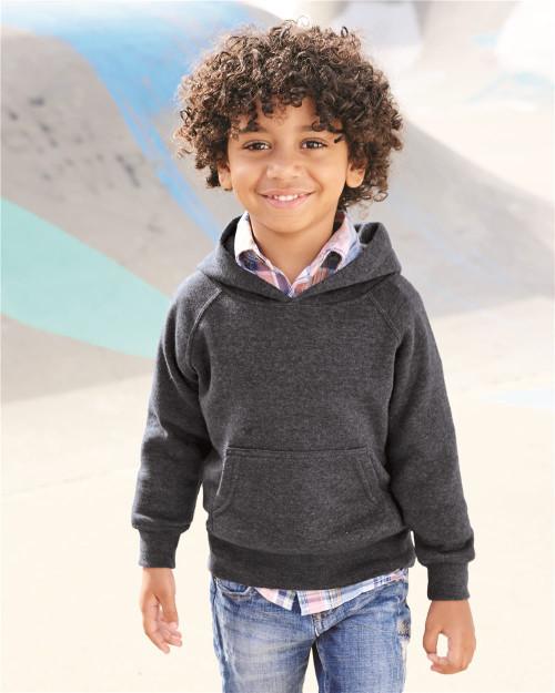 Independent Trading Co. Toddler Special Blend Raglan Hooded Sweatshirt PRM10TSB