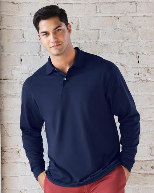 JERZEES SpotShield 50/50 Long Sleeve Sport Shirt 437MLR