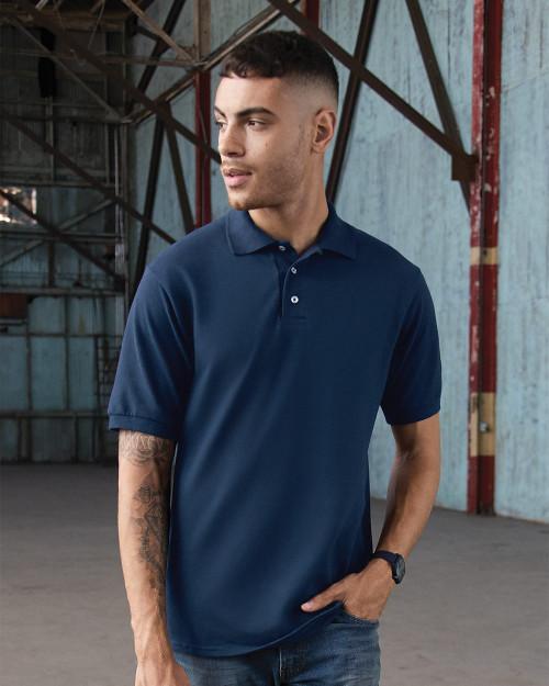 JERZEES 100% Ringspun Cotton Pique Sport Shirt 443M