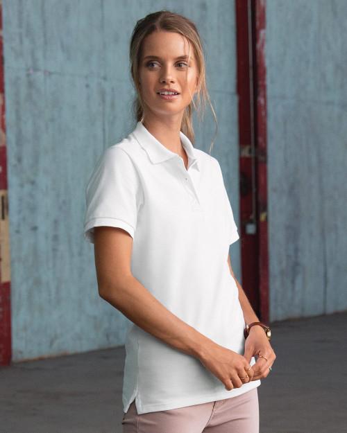 JERZEES Women's 100% Ringspun Cotton Pique Sport Shirt 443W
