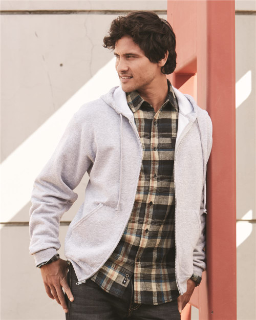 JERZEES NuBlend Full-Zip Hooded Sweatshirt 993MR