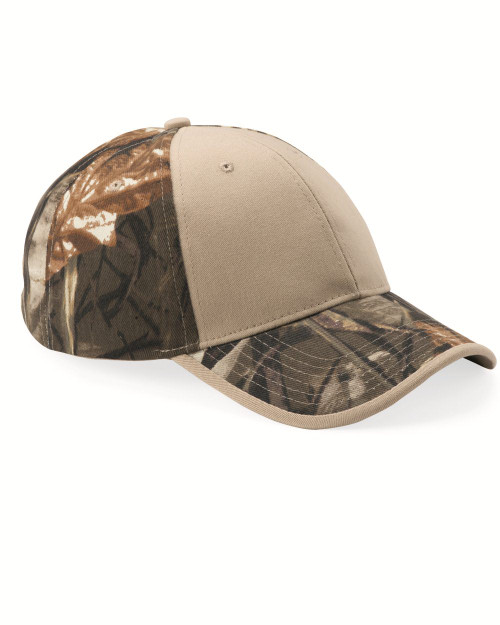 Kati Camo Cap with Solid Front LC102