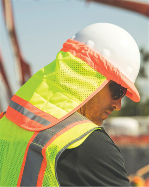 ML Kishigo Brisk Cooling Hard Hat Sun Shield 1624