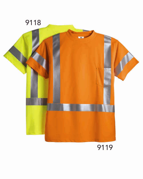 ML Kishigo Class 3 T-Shirt 9118-9119