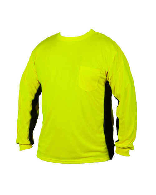 ML Kishigo Premium Black Series Long Sleeve Hi-Viz T-Shirt 9202-9203