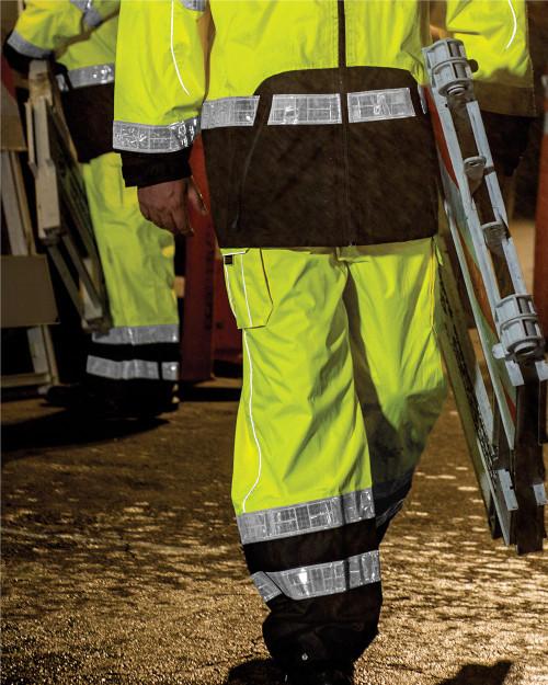 ML Kishigo Premium Black Series Rainwear Pants RWP106-107