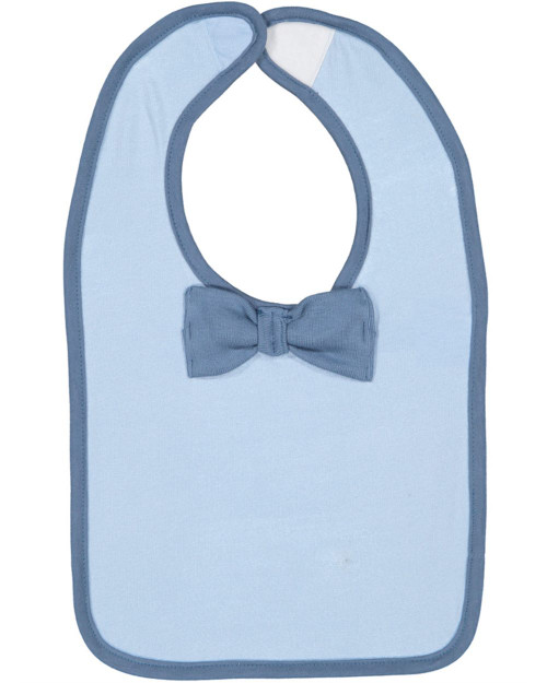 Rabbit Skins Infant Baby Rib Bow Tie Bib 1002