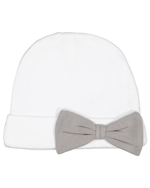 Rabbit Skins Premium Jersey Infant Bow Cap 4453