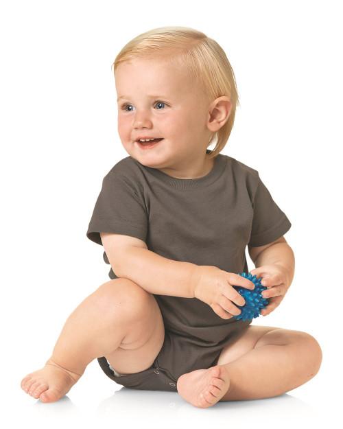 Rabbit Skins Infant Premium Jersey Short Sleeve Bodysuit 4480